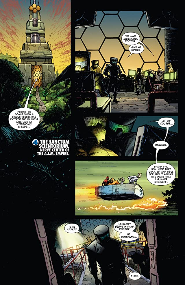click for super-sized previews of Fantastic Four (1998-2012) #610