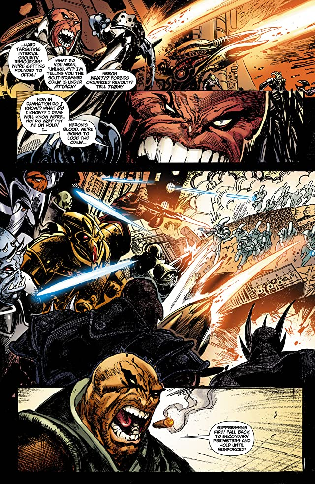 click for super-sized previews of Reign in Hell #1