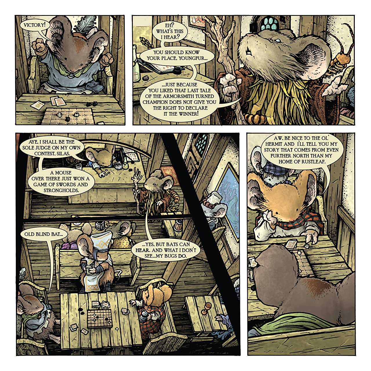 Mouse Guard: Legends of the Guard Vol. 3 #2