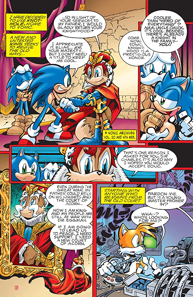 click for super-sized previews of Sonic Saga Series Vol. 1: Darkest Storm
