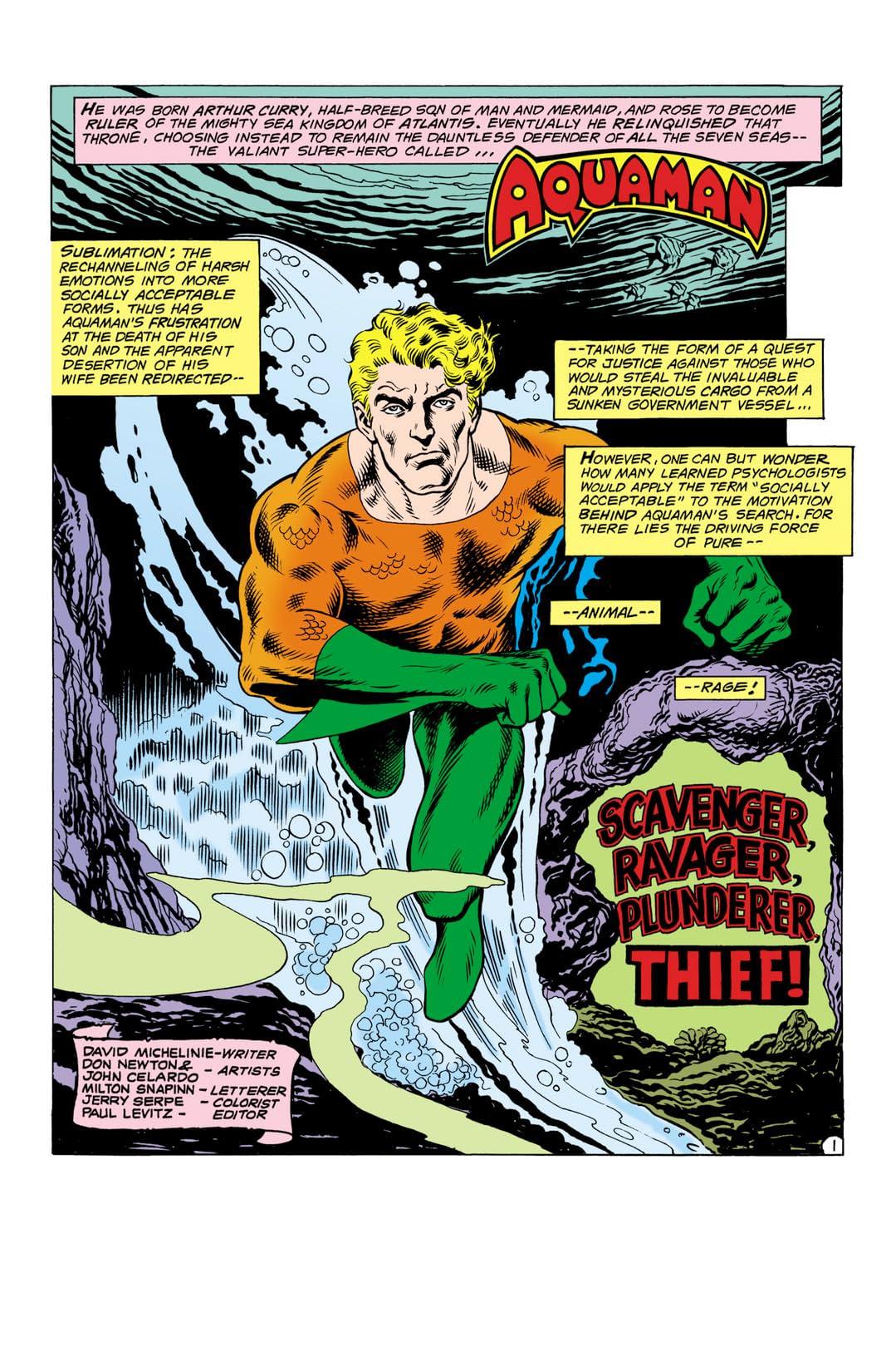 Aquaman (1962-1978) #60