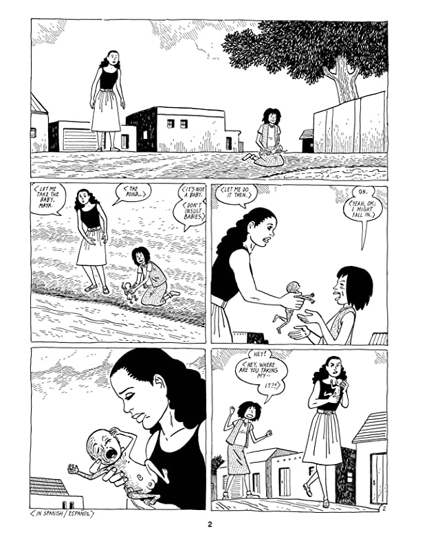 click for super-sized previews of Love & Rockets: New Stories #5
