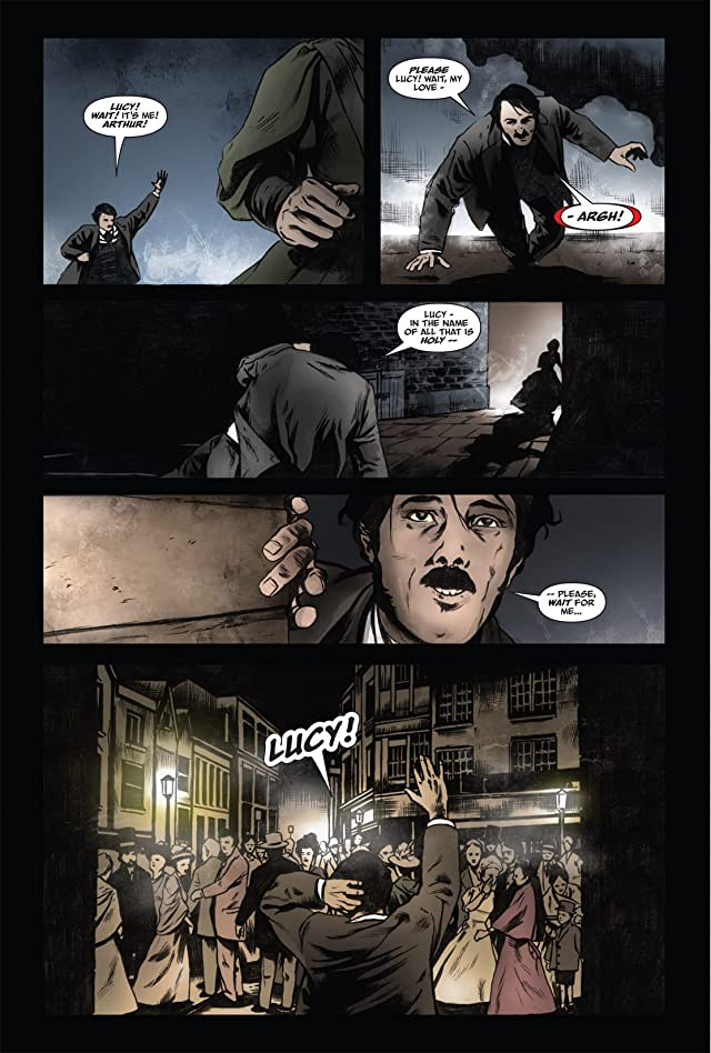 click for super-sized previews of From the Pages of Bram Stoker's Dracula: Harker #2
