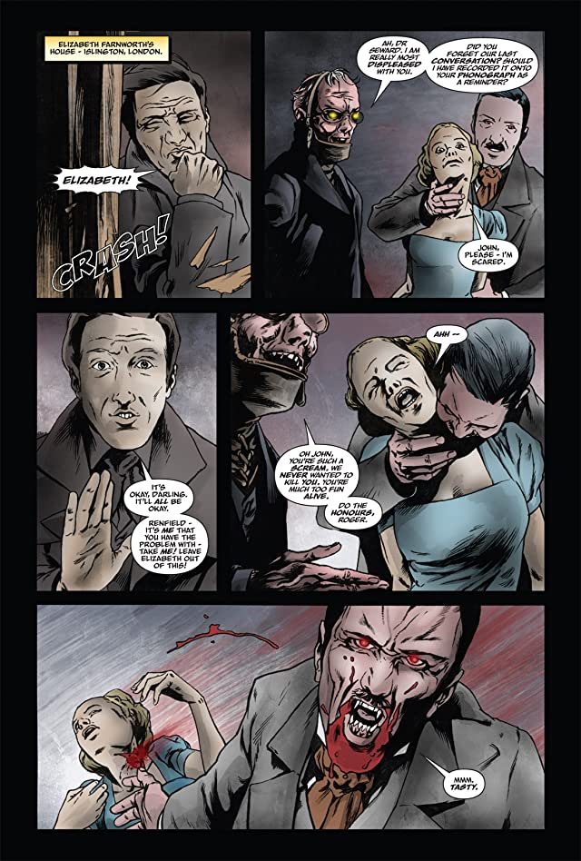 click for super-sized previews of From the Pages of Bram Stoker's Dracula: Harker #4