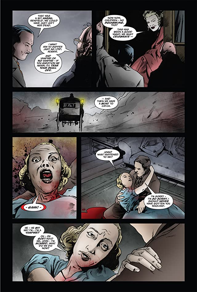 From the Pages of Bram Stoker's Dracula: Harker #4
