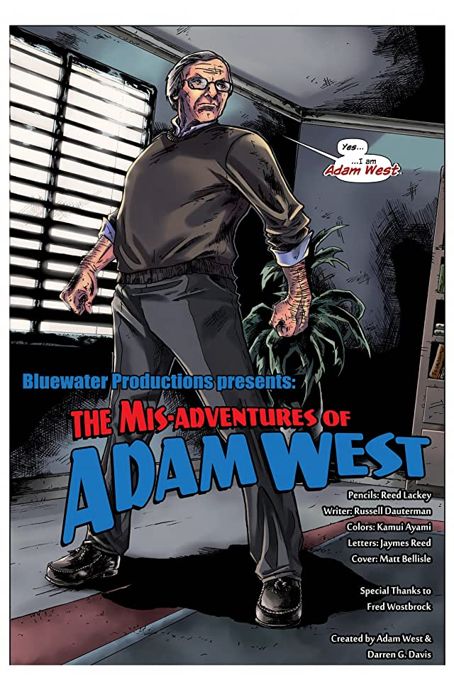 Mis-adventures of Adam West: Ongoing #0