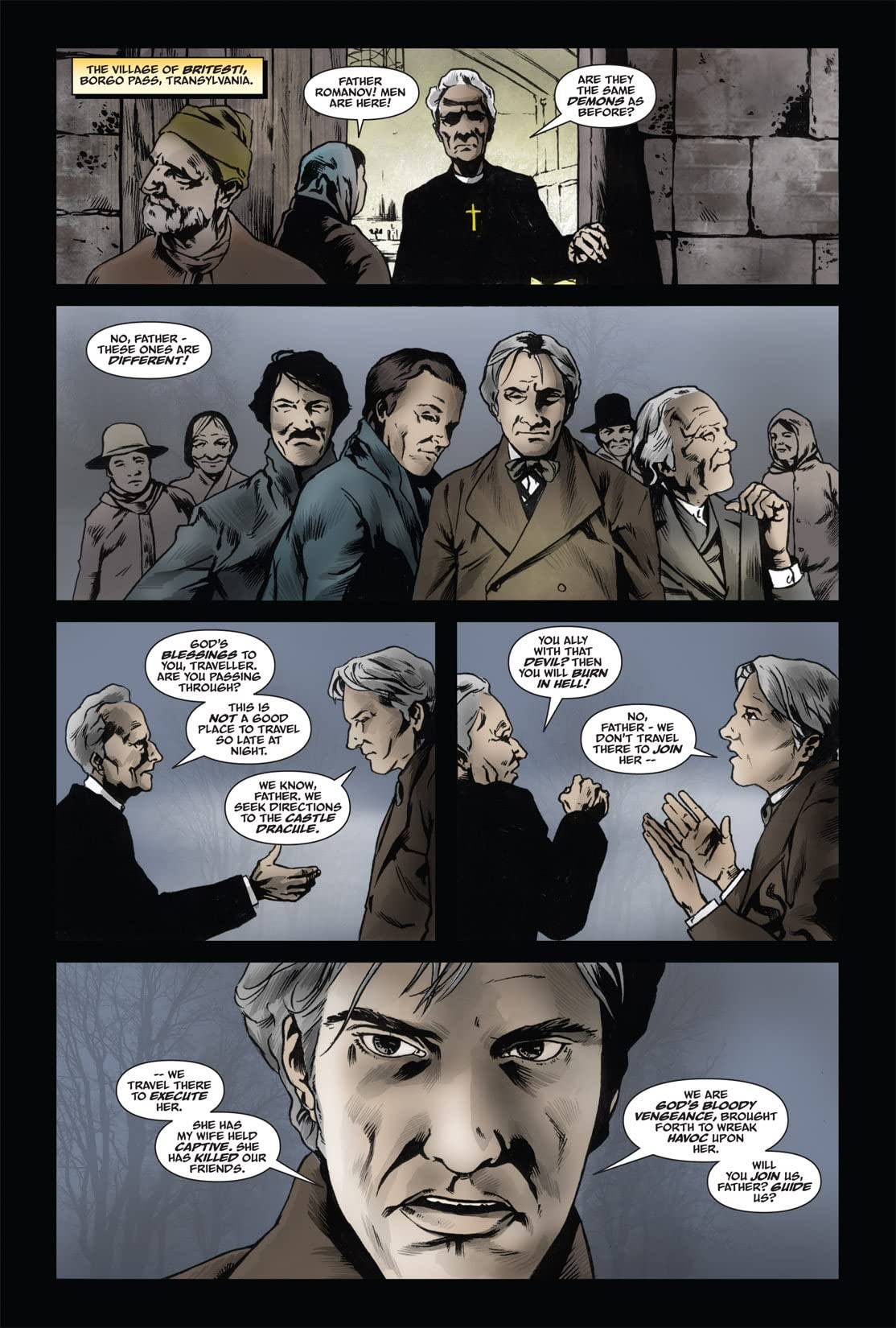 From the Pages of Bram Stoker's Dracula: Harker #5