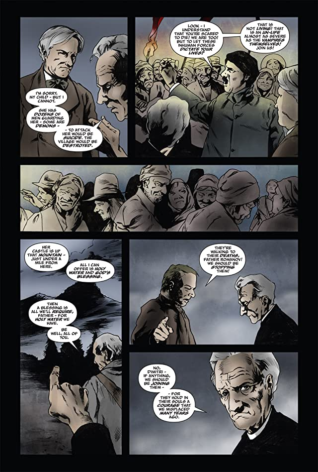 click for super-sized previews of From the Pages of Bram Stoker's Dracula: Harker #5