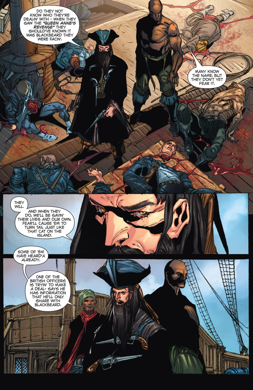 Blackbeard: Legend of the Pyrate King #6