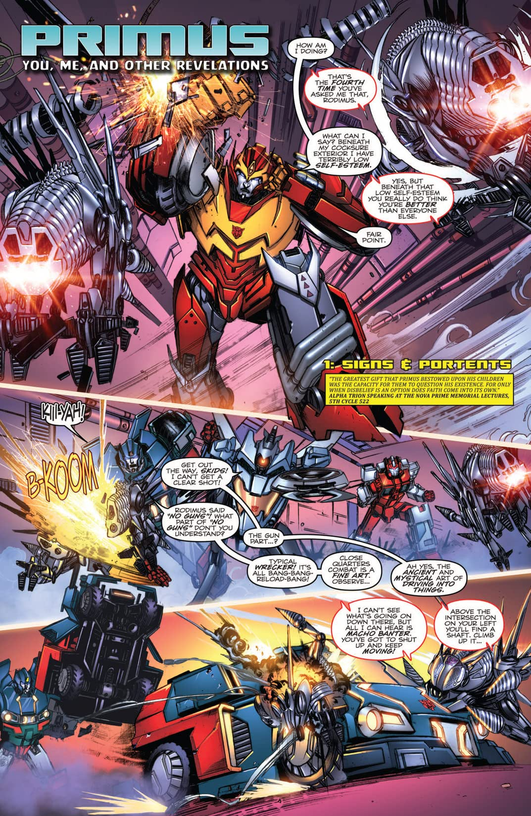 Transformers: More Than Meets the Eye (2011-): Annual 2012