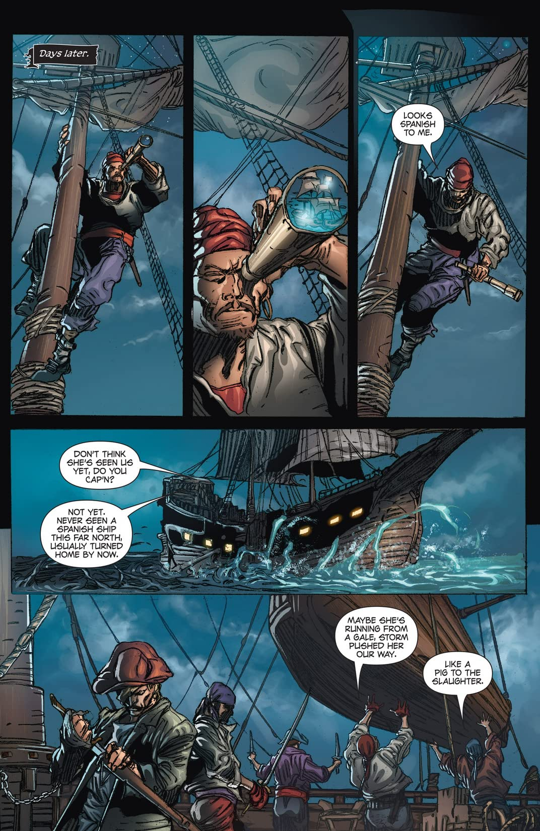 Blackbeard: Legend of the Pyrate King #3