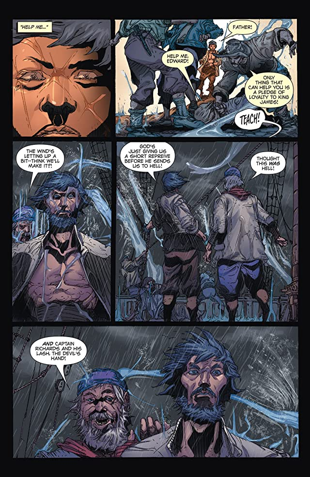 click for super-sized previews of Blackbeard: Legend of the Pyrate King #1