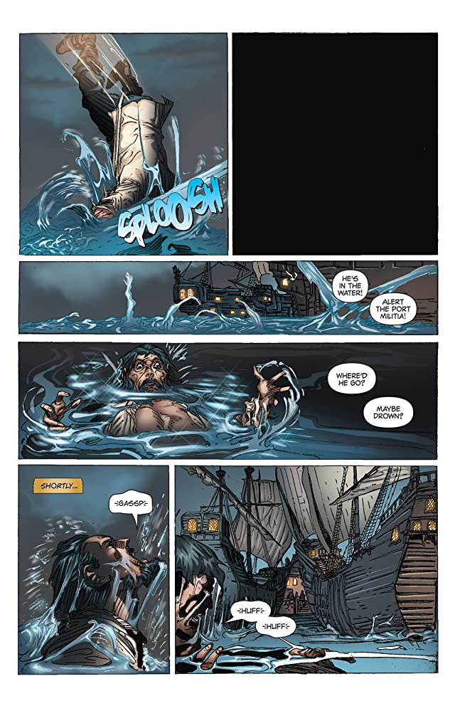 Blackbeard: Legend of the Pyrate King #2