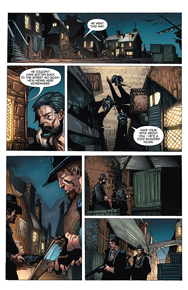 click for super-sized previews of Blackbeard: Legend of the Pyrate King #2