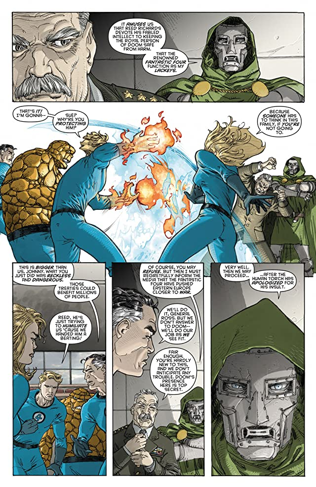 click for super-sized previews of Spider-Man/Fantastic Four #1
