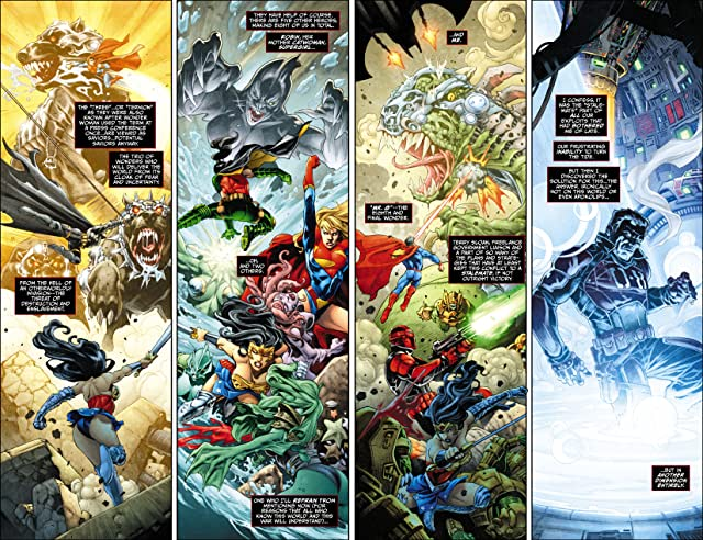 click for super-sized previews of Earth 2 (2012-2015) #0