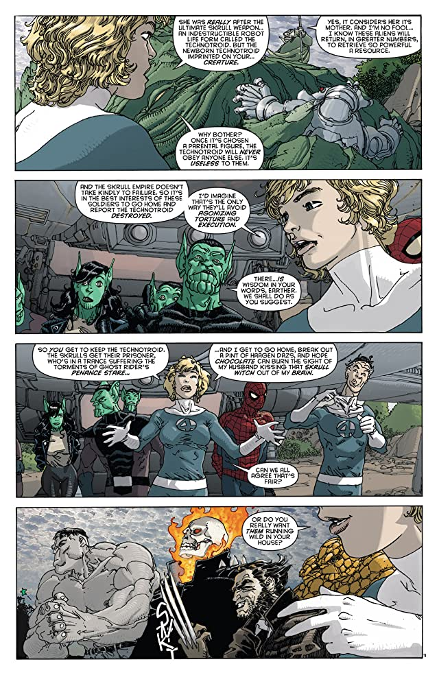 click for super-sized previews of Spider-Man/Fantastic Four #3 (of 4)