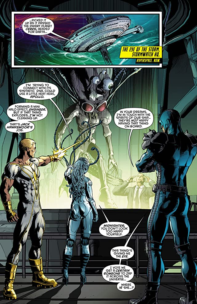 click for super-sized previews of Stormwatch (2011-2014) #0