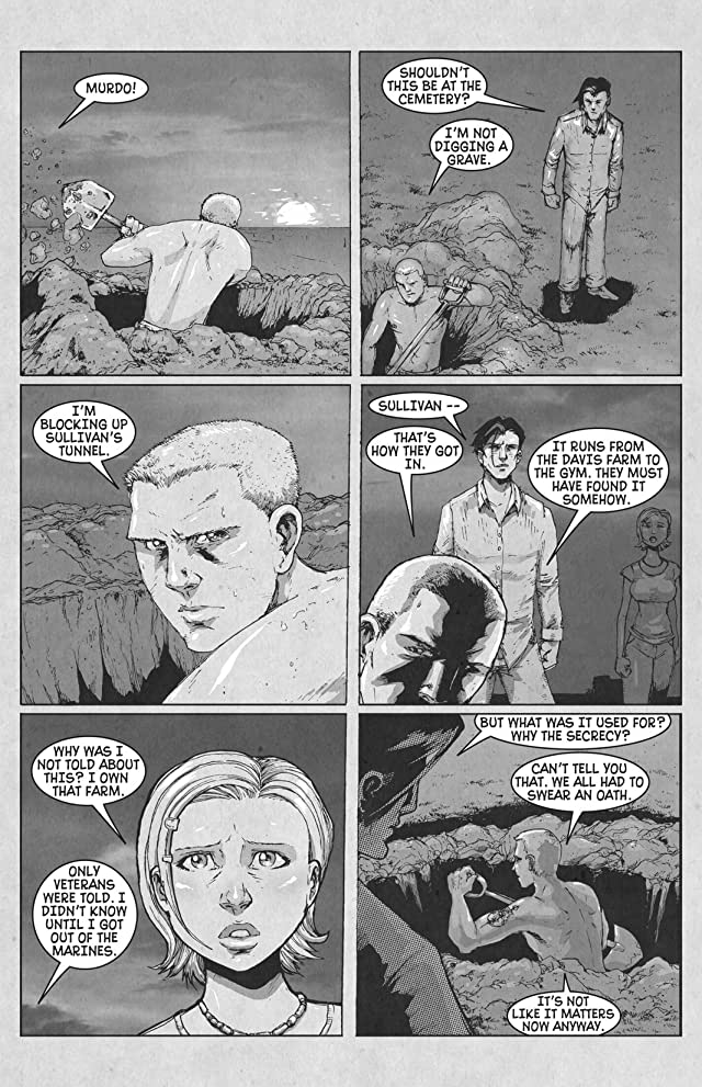 click for super-sized previews of Last Blood #5