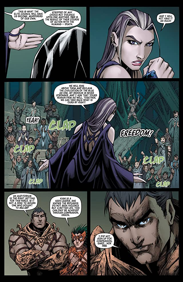 click for super-sized previews of Fathom: Kiani Vol. 2 #3