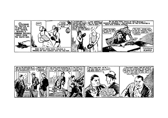 The Phantom: The Complete Dailies Vol. 1: 1936-1937