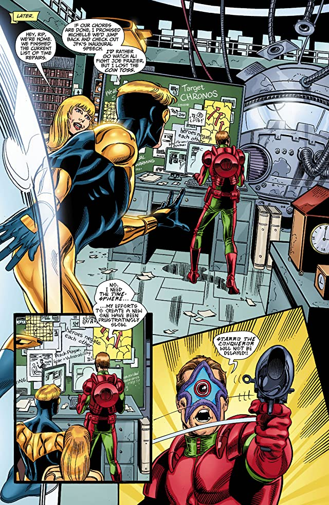 click for super-sized previews of Booster Gold (2007-2011) #13