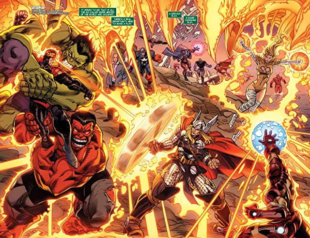 click for super-sized previews of Avengers (2010-2012) #30