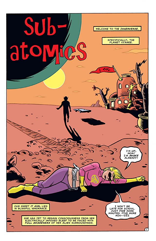 click for super-sized previews of The Atomics #10