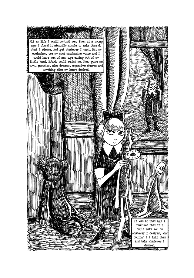 click for super-sized previews of Diary of the Black Widow: Preview