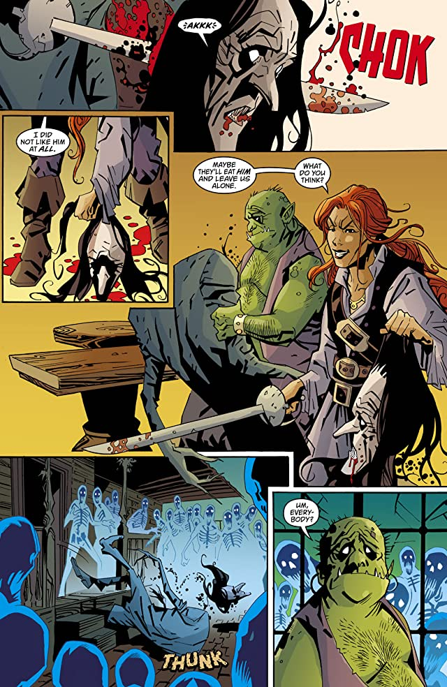 click for super-sized previews of House of Mystery (2008-2011) #20
