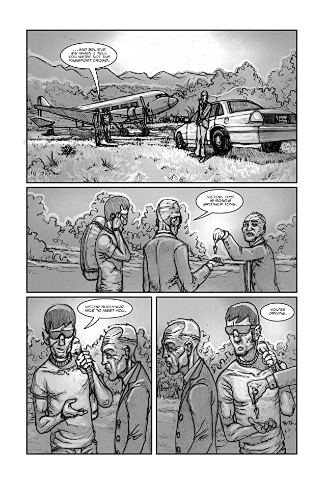 click for super-sized previews of American Terror Vol. 2: Preview