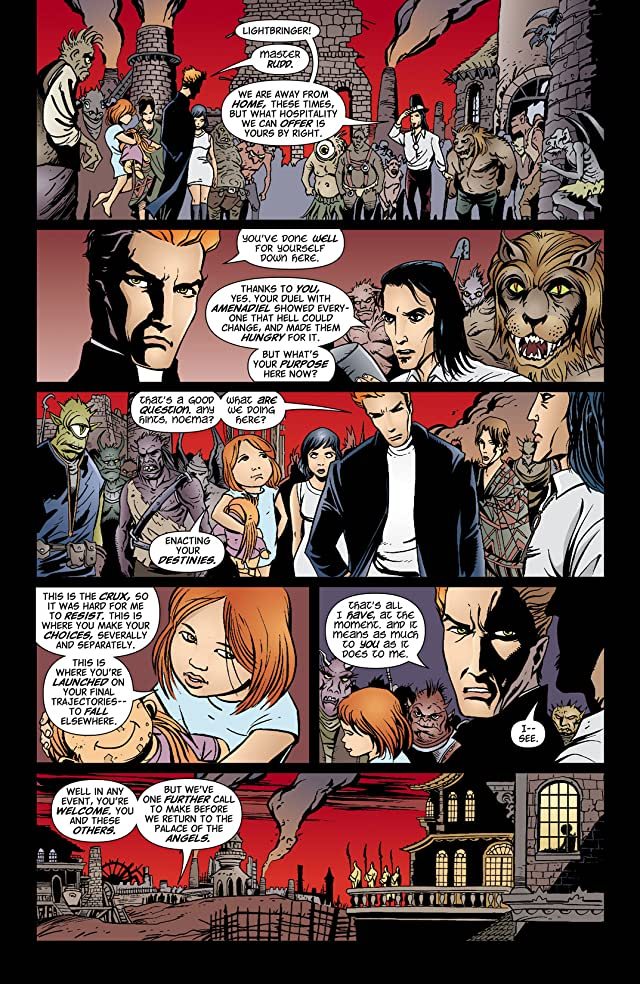 click for super-sized previews of Lucifer #64