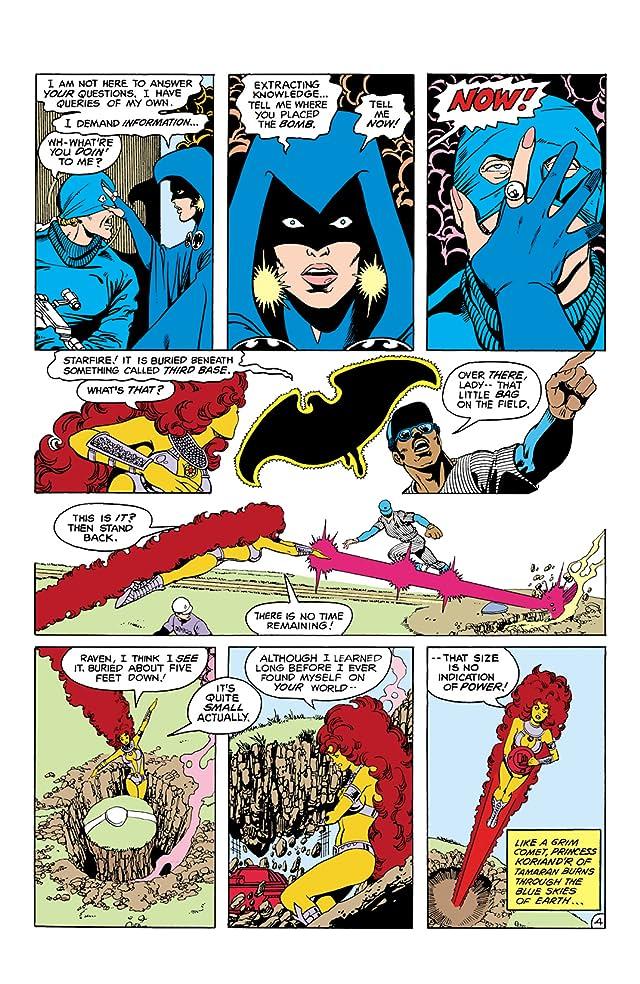 New Teen Titans (1980-1988) #21