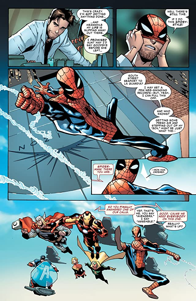 click for super-sized previews of Amazing Spider-Man (1999-2013) #694