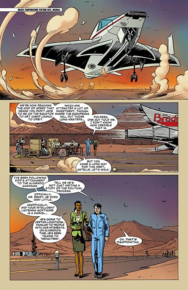 click for super-sized previews of Saucer Country #7