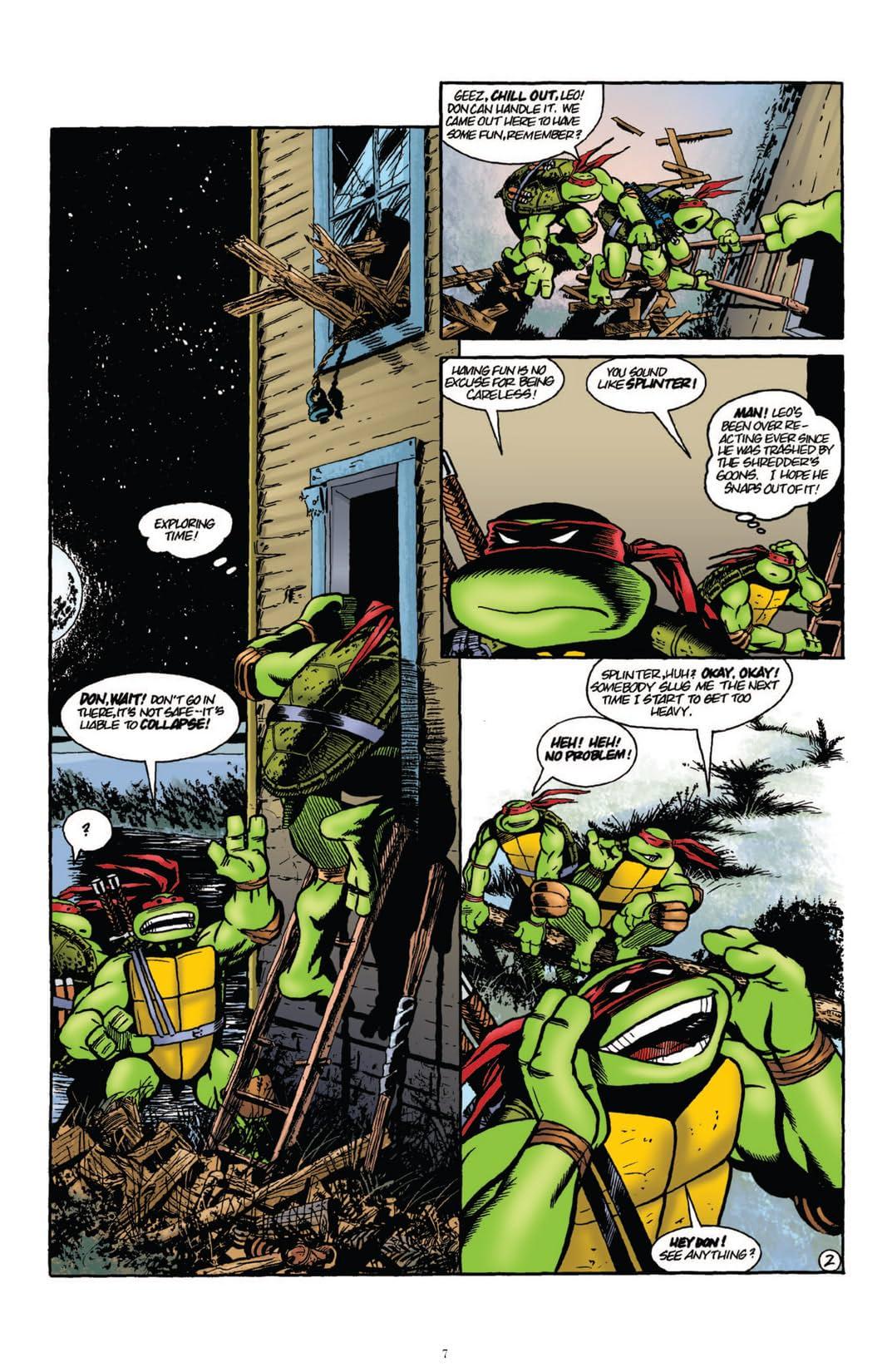 Teenage Mutant Ninja Turtles: Classics Vol. 1