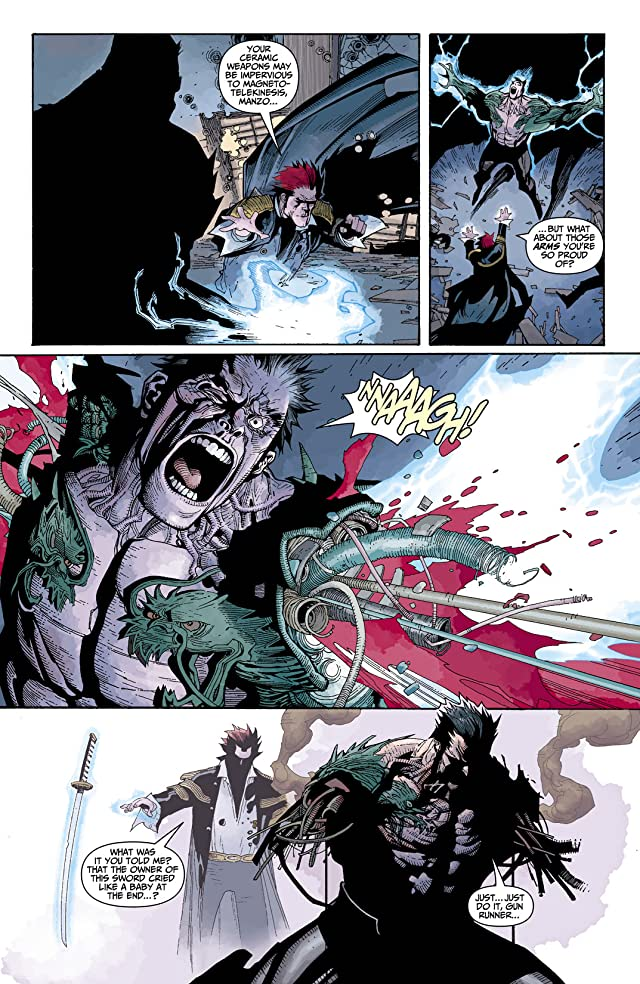 click for super-sized previews of Silent Dragon #6