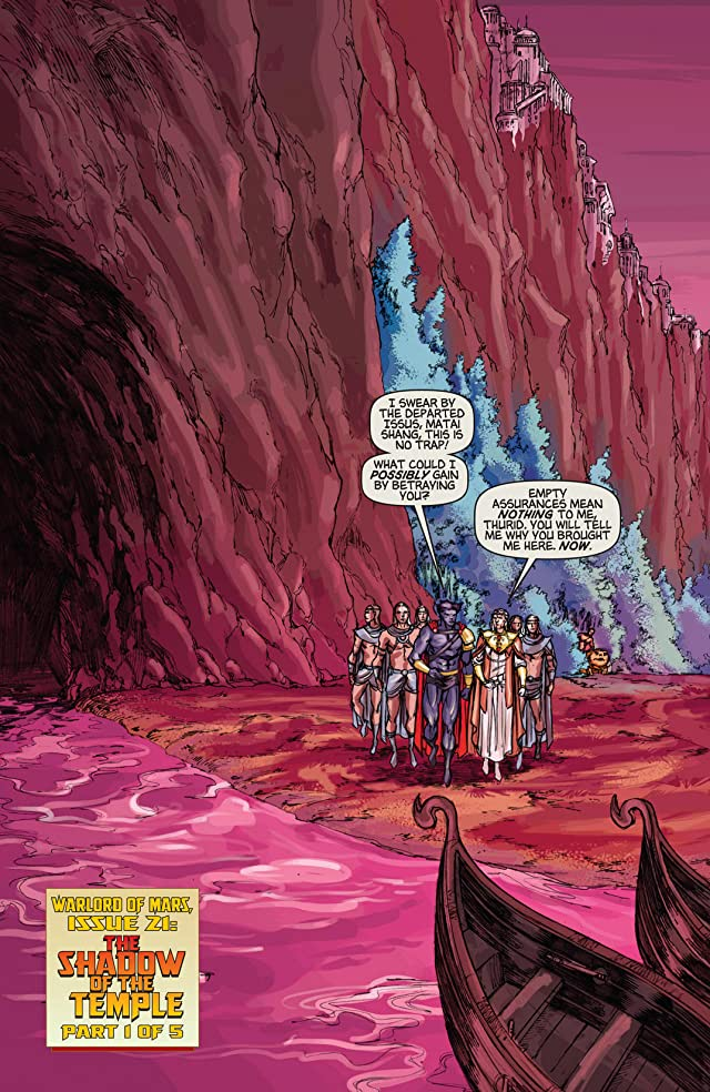 click for super-sized previews of Warlord of Mars #21