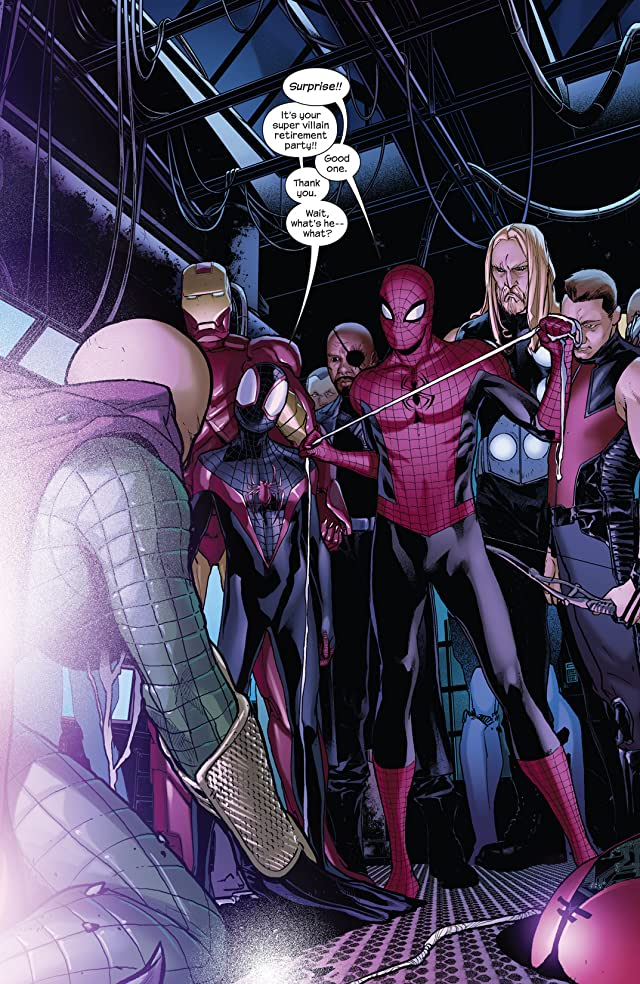 click for super-sized previews of Spider-Men #5