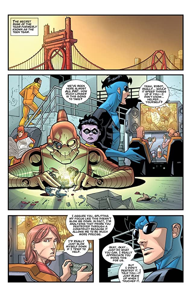 click for super-sized previews of Invincible #57