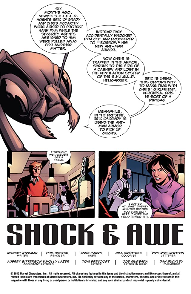 click for super-sized previews of Irredeemable Ant-Man #2