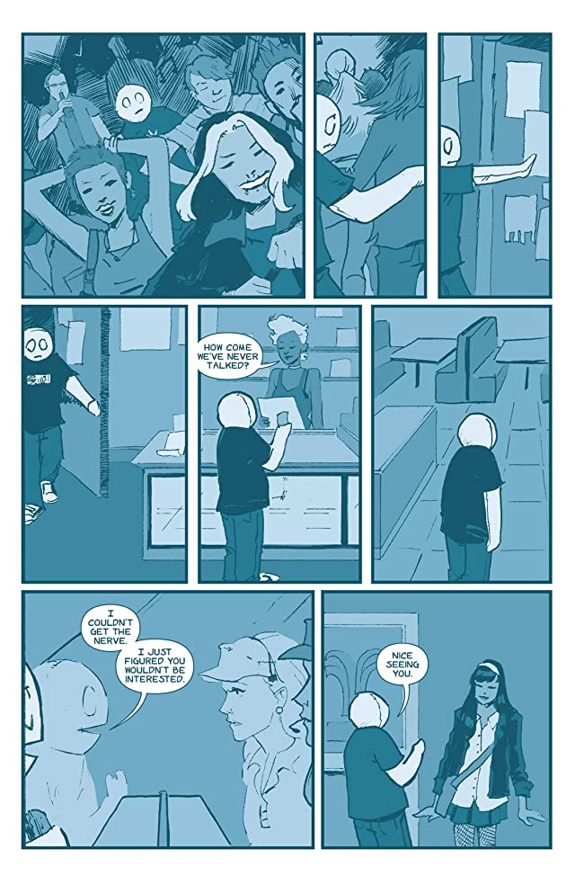 click for super-sized previews of The Li'l Depressed Boy #13