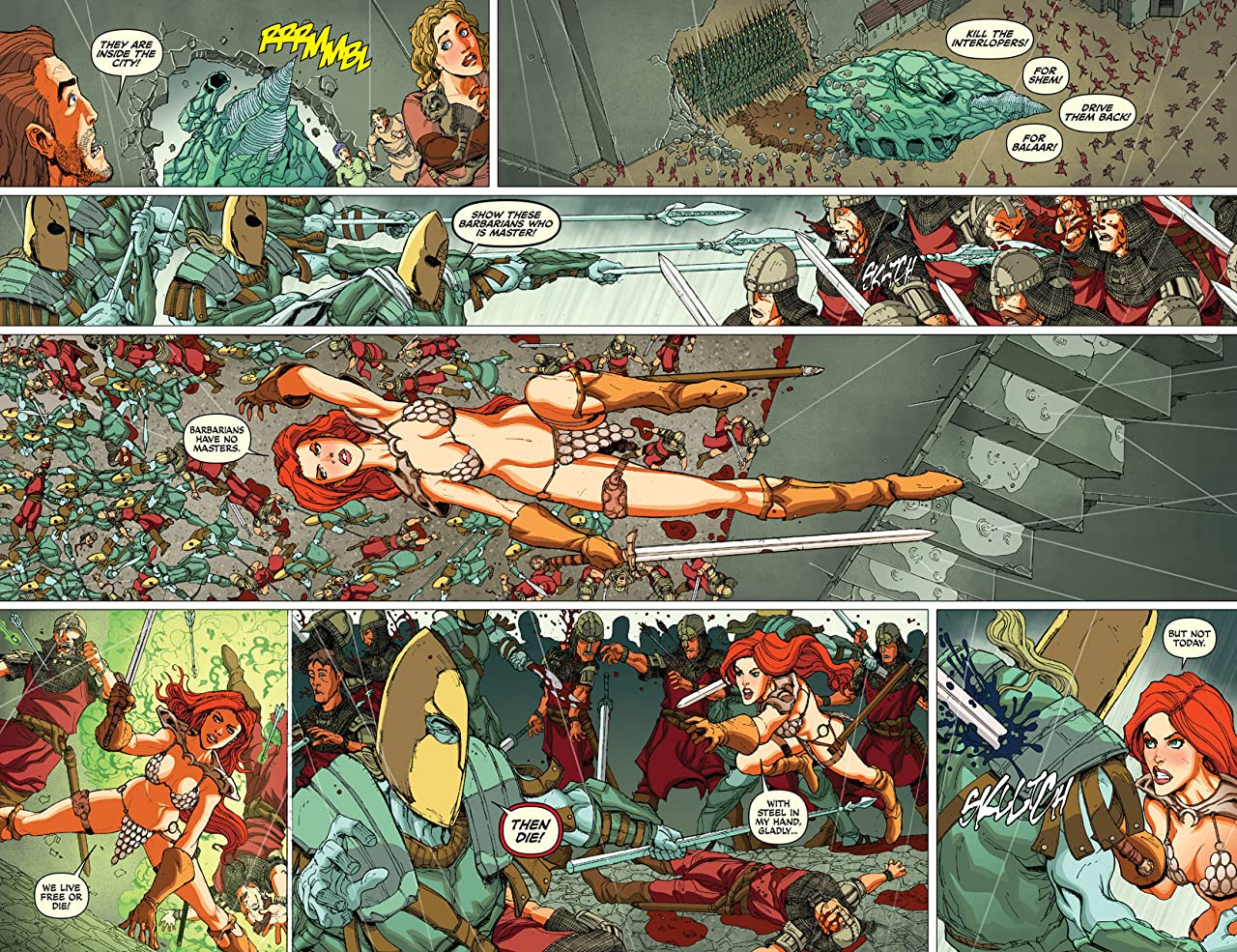 Red Sonja: Atlantis Rises #2