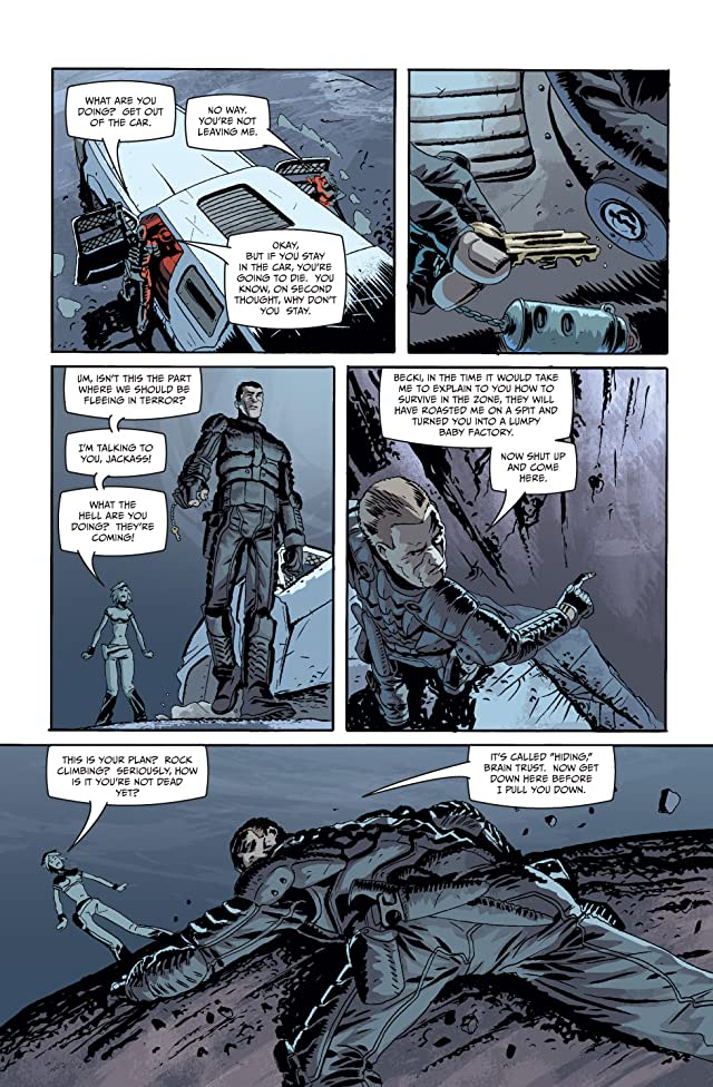 click for super-sized previews of Dead Run #2 (of 4)