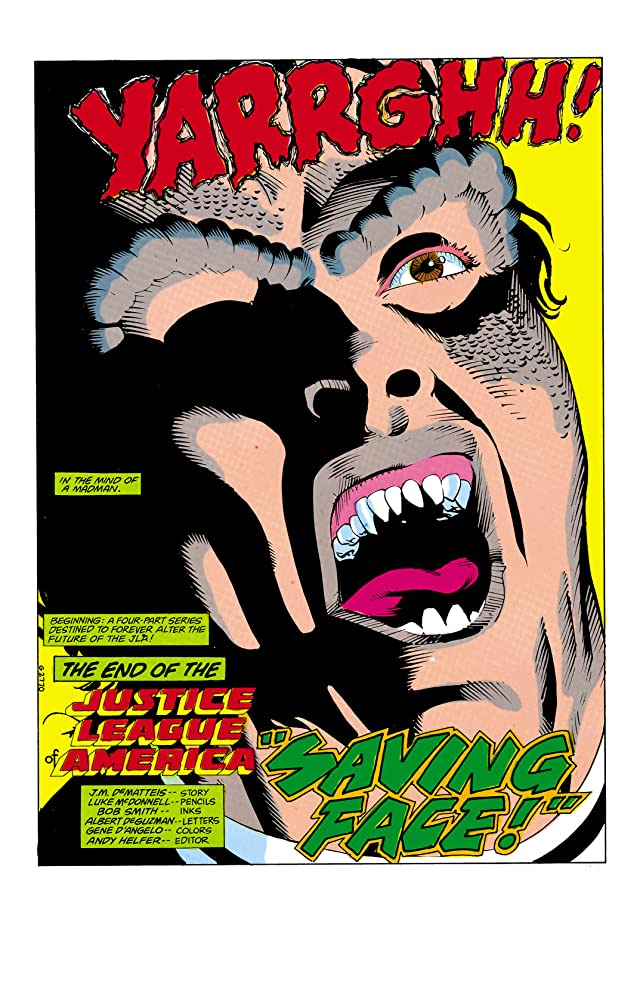 click for super-sized previews of Justice League of America (1960-1987) #258