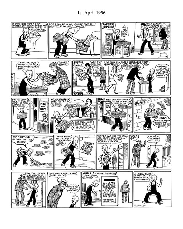 The Broons and Oor Wullie: The Glory Years: 1956 - 1969 - Comics ...