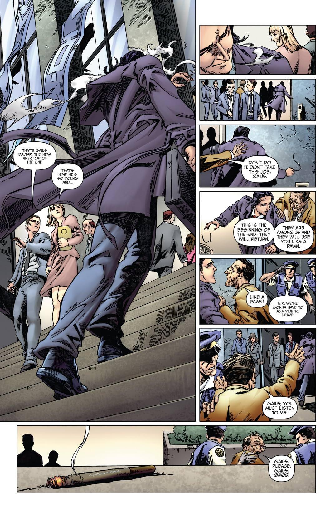 Battlestar Galactica: Origins #2