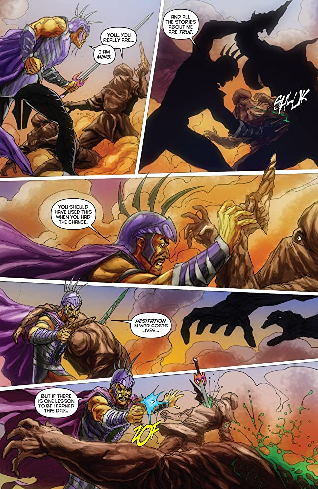 click for super-sized previews of Merciless: the Rise of Ming #4