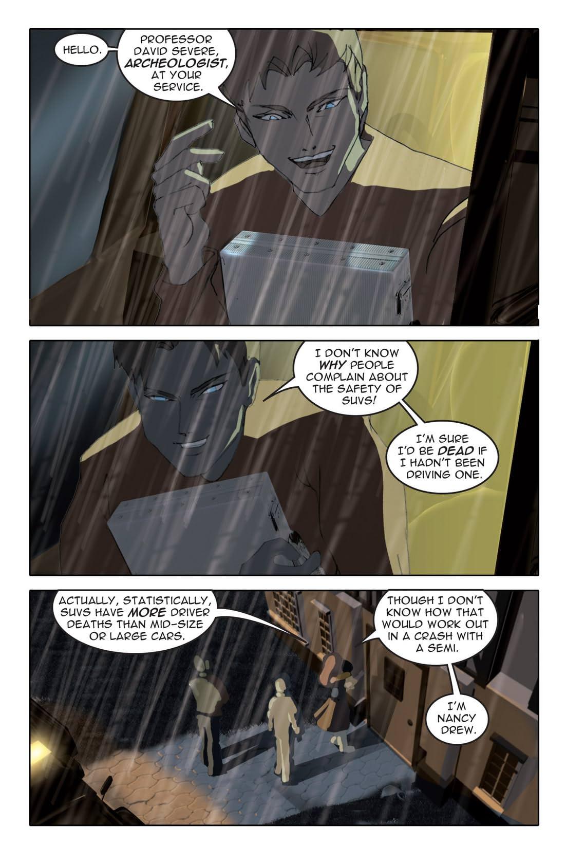 Nancy Drew Vol. 2: Writ In Stone