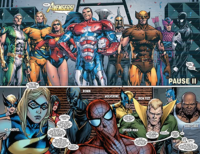 click for super-sized previews of New Avengers (2004-2010) #50